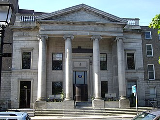 Department of Justice and Equality - Department head office at St Stephen's Green, Dublin.