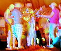 9 musicians motion blur experimental digital photography by Rick Doble.jpg