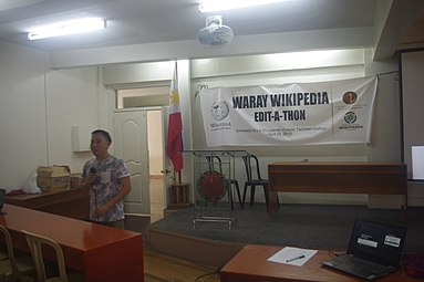 9th Waray Wikipedia Edit-a-thon 01.JPG