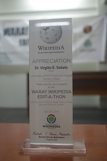 9th Waray Wikipedia Edit-a-thon 26.JPG