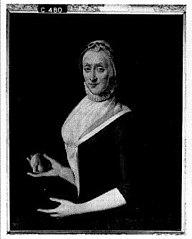 Isabella Gijsberts, wife of Tjaerd van der Walle