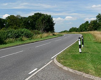 A512 road - Image: A512 Ashby Road near Ashby de la Zouch geograph.org.uk 912126