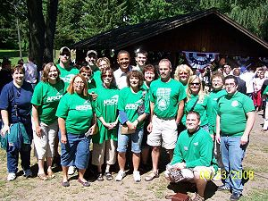 American Federation of State, County and Municipal Employees - Image: AFSCME members with Barack Obama 2008 08 24