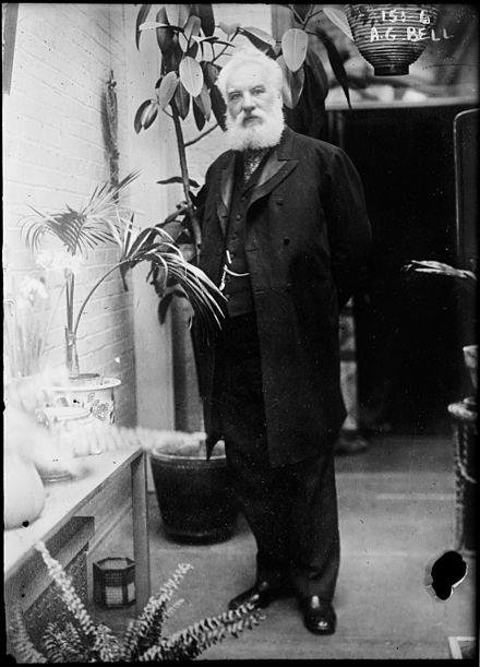 Alexander Graham Bell in his later years AG Bell 1.jpg