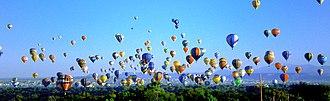 Hot air balloon festival - Albuquerque International Balloon Fiesta, 2007