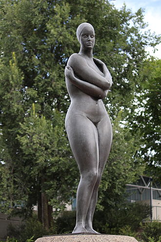 Guy Boyd (sculptor) - The Swimmer at the Australian Institute of Sport, Canberra.