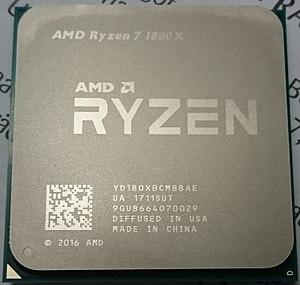 Ryzen - AMD Ryzen 7 1800X