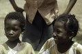 ASC Leiden - F. van der Kraaij Collection - 01 - 001 - Saye Town. Two African elementary school girls with earrings - Monrovia, Sinkor, Montserrado County, Liberia, 1976.tiff