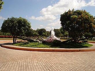 Visvesvaraya Technological University - A fountain at VTU campus entrance