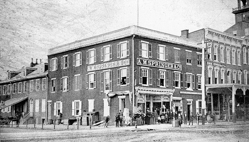 File:A M Spangler Store - Allentown PA 1880.jpg