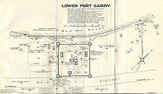 Treaty 1 - A plan of Lower Fort Garry