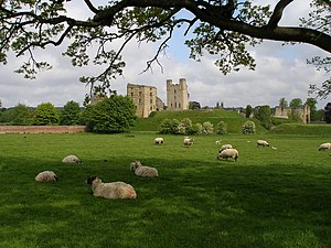 Helmsley - Helmsley Castle