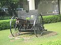 A cannon in front of Hotel Ananda - In the Himalayas, Narendra Nagar, Uttarakhand WTK20150913-IMG 0445.jpg