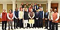 A delegation from the Pacific Pension and Investment (PPI) Institute, led by its President, Mr. Lionel C. Johnson calling on the Prime Minister, Shri Narendra Modi, in New Delhi on November 06, 2017 (3).jpg