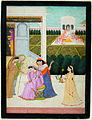 A lady disconsolate, while the others play Holi (6125133902).jpg