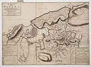 A plan of the Havana and its environs, with the several posts and attacks by Thomas Kitchin