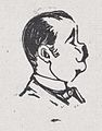 A profile of a man looking to the right with a dark mustache MET DP869203.jpg