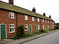A row of cottages on Station Road - geograph.org.uk - 569122.jpg