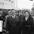 Aankomst van Margaret Truman, zangeres en dochter van de Amerikaanse president, , Bestanddeelnr 904-6150.jpg