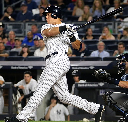 Aaron Judge on September 8, 2016