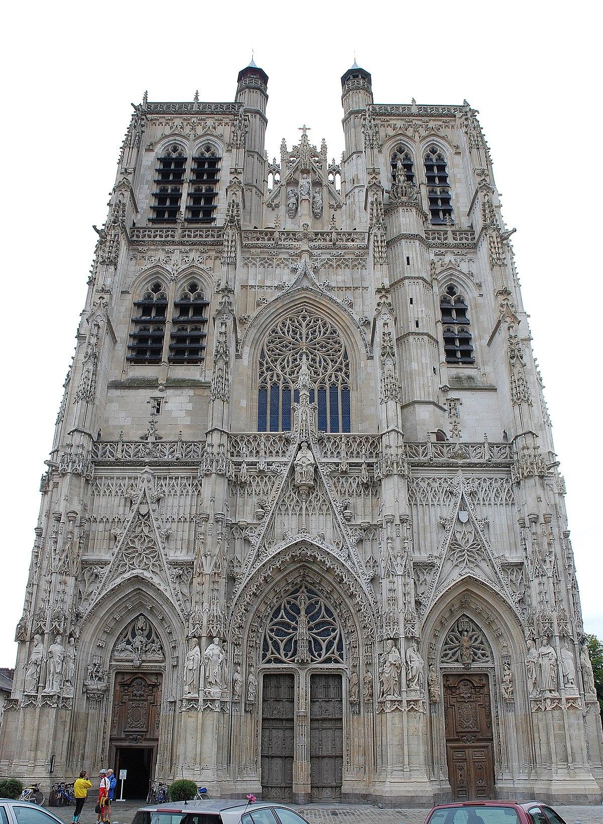 Foyer De L Art Gothique : Église saint vulfran d abbeville — wikipédia