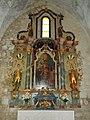 Abbey church, Baroque altar in Bélapátfalva, 2016 Hungary.jpg
