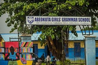 Abeokuta - Image: Abeokuta Girls Grammer School, Onikolobo, Abeokuta, Ogun state