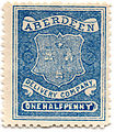 Aberdeen Delivery Company half penny stamp.jpg