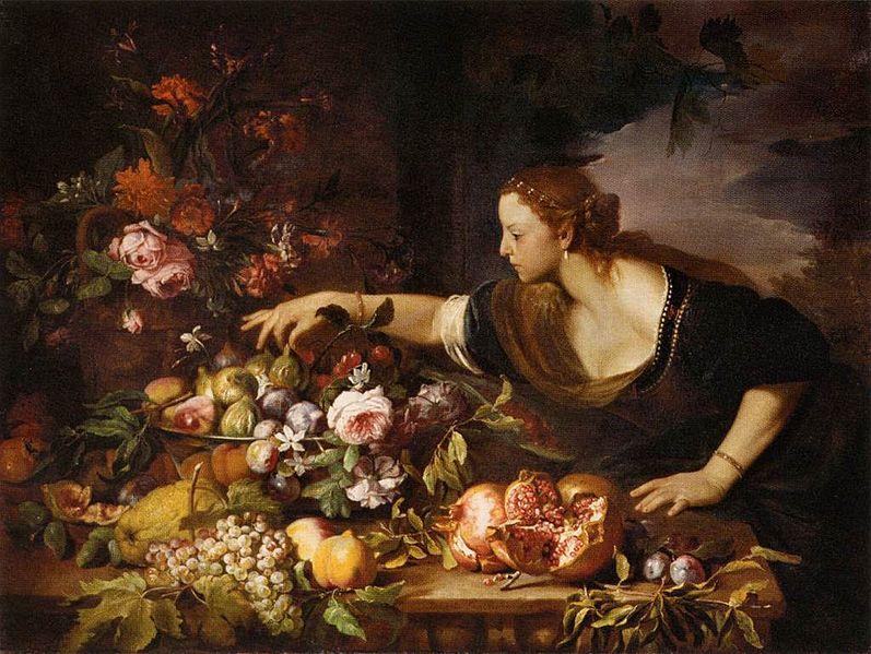 File:Abraham Brueghel - Woman Grasping Fruit - WGA3546.jpg