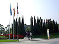 Acceso al pabellon-jardin de España en Royal Flora Ratchaphruek.jpg