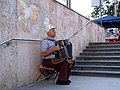 Accordion player in Chisinau Moldova - Flickr - Dave Proffer.jpg