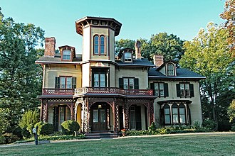 National Register of Historic Places listings in Morris County, New Jersey - Image: Acorn Hall