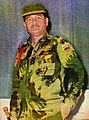 Acub Zainal in combat uniform, Irian Barat dari Masa ke Masa, p234-235.jpg