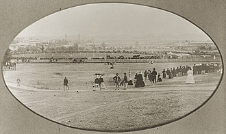Adelaide Oval - In 1874 a side representing England defeated a South Australian side by 7 wickets in what was the first international cricket match at the ground