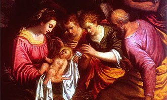Lorenzo Sabbatini - The Adoration by the Shepherds.