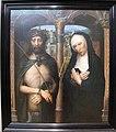 Adriaen isenbrant, cristo coronato di spine e vergine dolente, 1530-40 ca..JPG