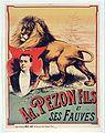 Adrien Pezon Fils et ses fauves (1890).jpg