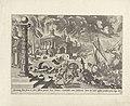 Aeneas redt zijn vader uit het brandende Troje Metamorfosen van Ovidius (serietitel), RP-P-1904-3598.jpg