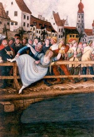 Agnes Bernauer - Death of Agnes Bernauer
