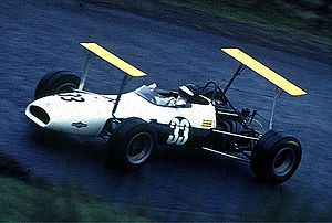 Kurt Ahrens Jr. - Kurt Ahrens Jr. driving a Brabham F2 in 1969.
