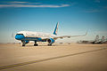 Air Force Two lands at the Kentucky Air National Guard Base in Louisville, Ky.jpg