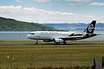 Air New Zealand Airbus A320-232 ZK-OJD NZ 820 SYD-ROT app - land ROT (16466701122).jpg