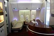 Orange actualit s for Interieur qatar airways