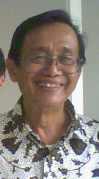 Ajip Rosidi - Ajip Rosidi in 2011