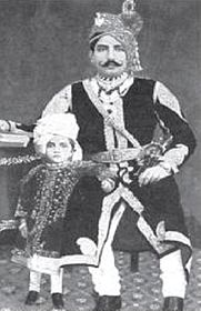 An Indian kind with his child
