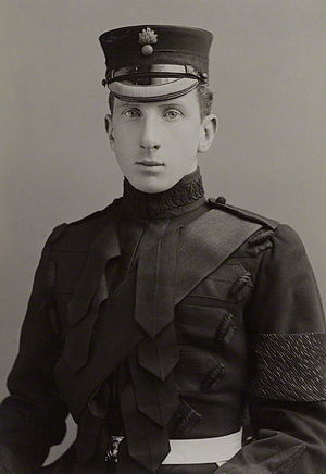Alan Percy, 8th Duke of Northumberland - Alan Ian Percy, in a Grenadier Guards uniform, by Alexander Bassano - 1900s