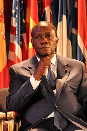 Alassane Ouattara - Ouattara at UNESCO in September 2011