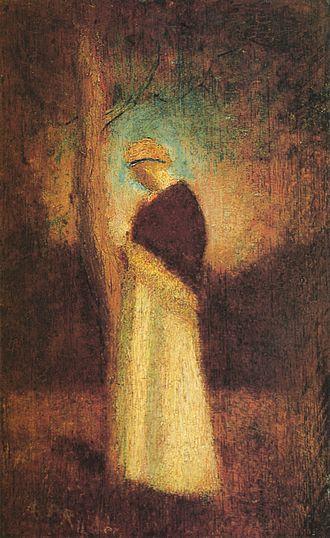 Albert Pinkham Ryder - Image: Albert Pinkham Ryder Spirit of Autumn (c. 1875)