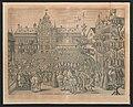 Albert en Isabella leggen hun eed af voor het Stadhuis van Antwerpen.jpg