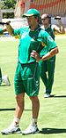 Albie Morkel at a training session at the Adel...